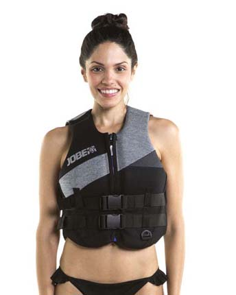 Jobe Neoprene Life Vest Women Cool Gray