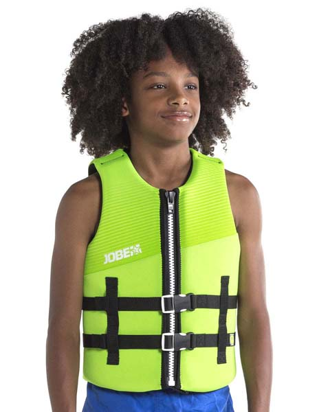 Jobe Neoprene Life Vest Kids Lime Green