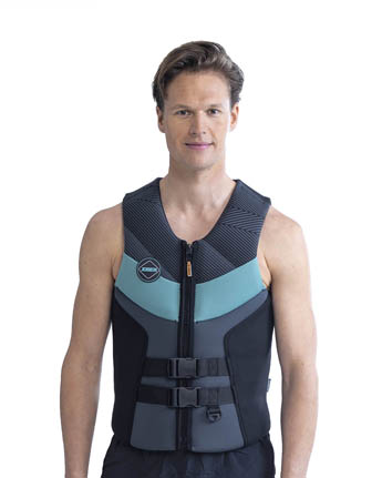 Jobe Segmented Life Vest Men Graphite Grey