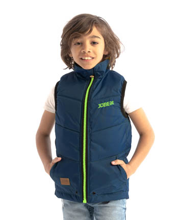 Jobe 50 Newton Bodywarmer Kids Midnight Blue