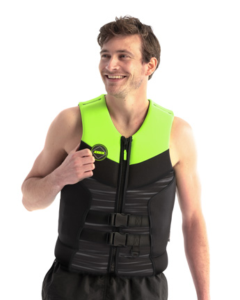 Jobe Segmented Jet Life Vest Backsupport Men