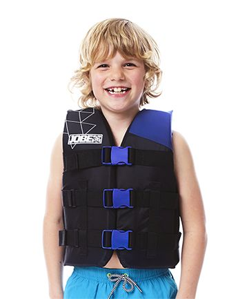 Jobe Nylon Life Jacket Child 30-50lbs. Blue