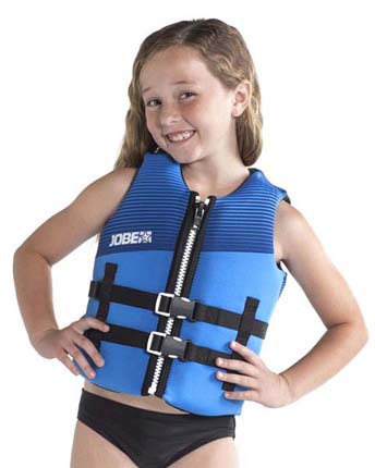 Jobe Neoprene Life Jacket Youth Blue