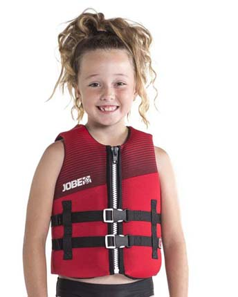 Jobe Neoprene Life Jacket Youth Red
