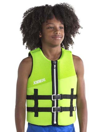 Jobe Neoprene Life Jacket Youth Lime