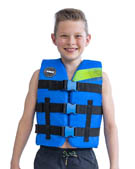 Jobe Nylon Life Jacket Youth Blue