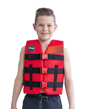 Jobe Nylon Life Jacket Youth Red