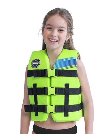 Jobe Nylon Life Jacket Youth Lime