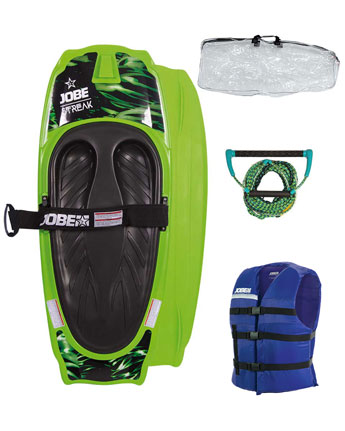 Jobe Streak Kneeboard Package Green