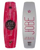 Jobe Armada Wakeboard Women Coral Red