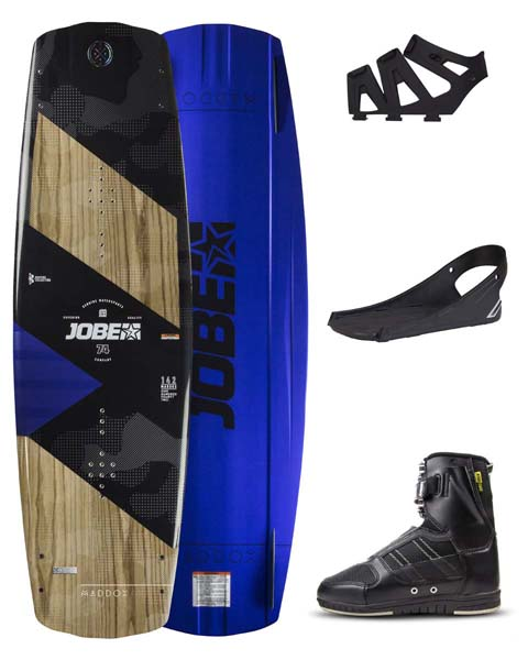 Jobe Maddox Wakeboard Premium 142 & Drift Bindings Set
