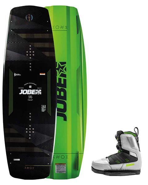 Jobe Knox Wakeboard Premium 143 & Nitro Bindings Cool Gray Set