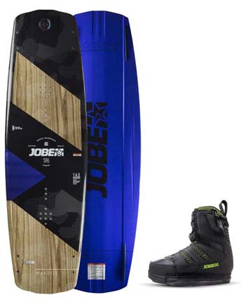 Jobe Maddox  Premium 138 & Nitro Bindings Black Set