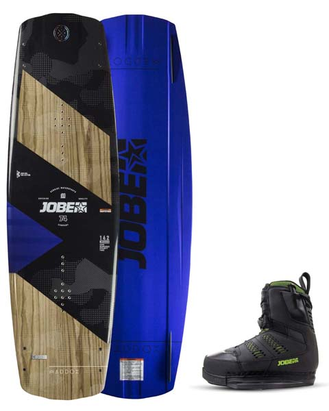 Jobe Maddox Wakeboard Premium 142 & Nitro Bindings Black Set