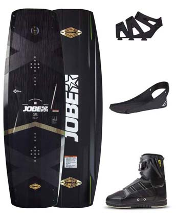 Jobe Conflict Wakeboard 145 & Drift Bindings Set