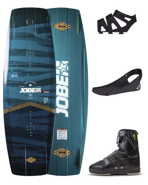 Jobe Pitch Wakeboard 136 & Drift Bindings Set