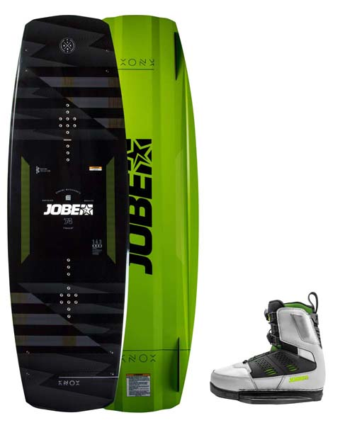 Jobe Knox Wakeboard 143 & Nitro Bindings Cool Gray Set