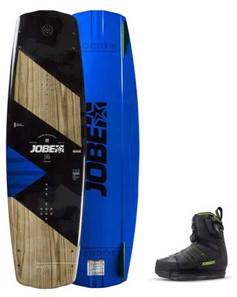 Jobe Maddox  142 & Nitro Bindings Black Set