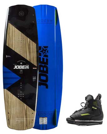 Jobe Maddox Wakeboard 138 & Unit Bindings Set