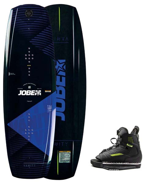 Jobe Vanity Wakeboard 131 & Unit Bindings Set