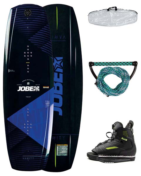 Jobe Vanity Wakeboard 136 & Unit Bindings Package