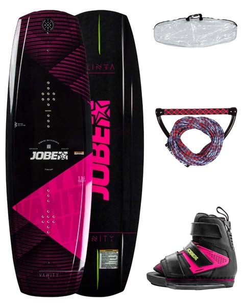 Jobe Vanity Wakeboard Women 136 & Host Pink Package