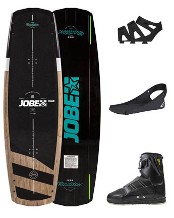 Jobe Maddox Wakeboard 138 & Drift Bindings Set