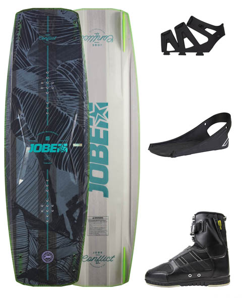 Jobe Conflict Wakeboard 134 & Drift Bindings Set