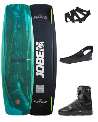 Jobe Concord Wakeboard 137 & Chausses Drift Set