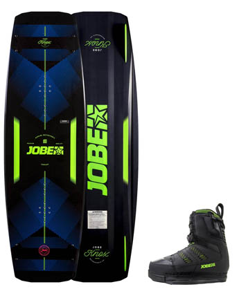 Jobe Knox Wakeboard 139 & Nitro Set Black
