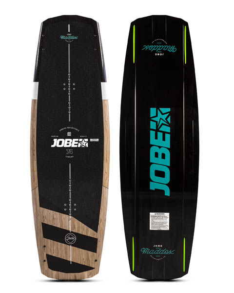 Jobe Maddox Wakeboard 138 & Charge Bindningar Set
