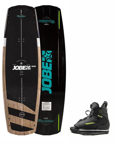 Jobe Maddox Wakeboard 142 & Unit Bindingen Set