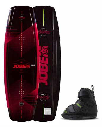 Jobe Vanity Wakeboard 131 & Chausses Host Set