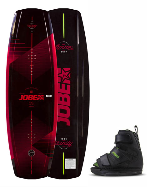 Jobe Vanity Wakeboard 141 & Host Bindings Set