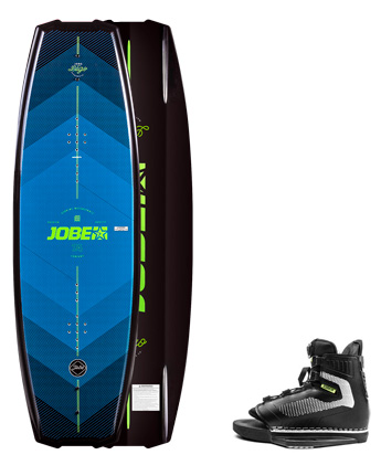 Jobe Logo Wakeboard 138 & Maze Bindings Set