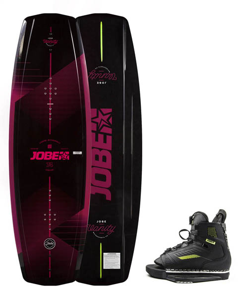 Jobe Vanity Wakeboard Women 136 & Botas Unit Set