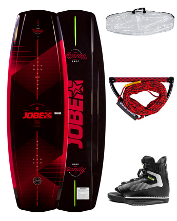 Jobe Vanity Wakeboard 131 & Chausses Maze Package