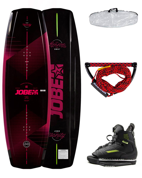 Jobe Vanity Wakeboard Women 131 & Chausses Unit Package