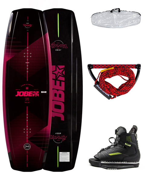 Jobe Vanity Wakeboard Women 136 & Chausses Unit Package