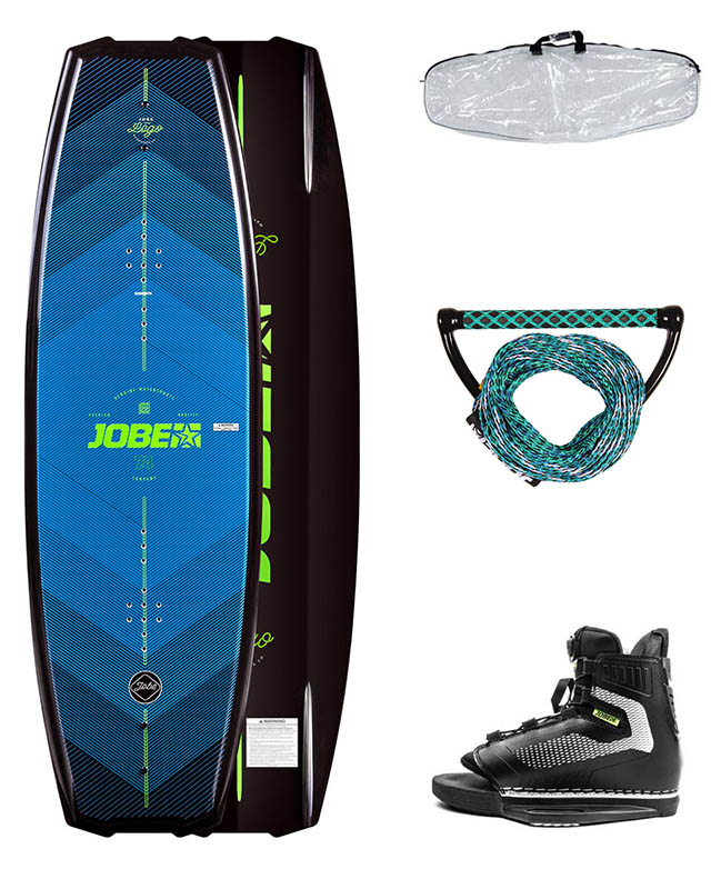 Jobe Logo Wakeboard 138 & Unit Bindings Package