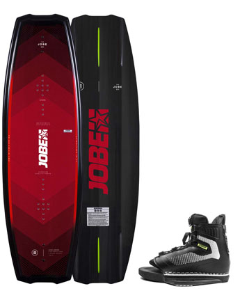 Jobe Logo Series Wakeboard & Maze Bindingen Set