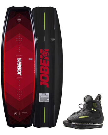 Jobe Logo Series Wakeboard & Unit Bindingen Set