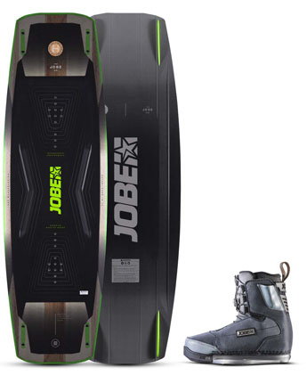 Jobe Conflict Wakeboard & Charge Bindingen Set