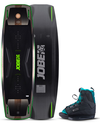 Jobe Conflict Wakeboard & Republik Bindingen Set