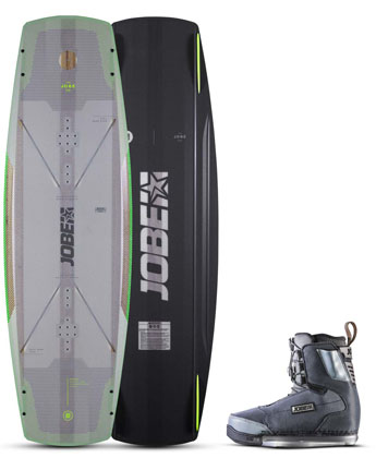 Jobe Breach Wakeboard & Charge Bindingen Set