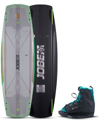 Jobe Breach Wakeboard & Republik Bindingen Set