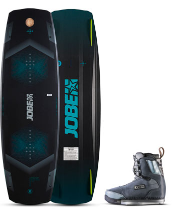 Jobe Knox Wakeboard & Charge Bindingen Set