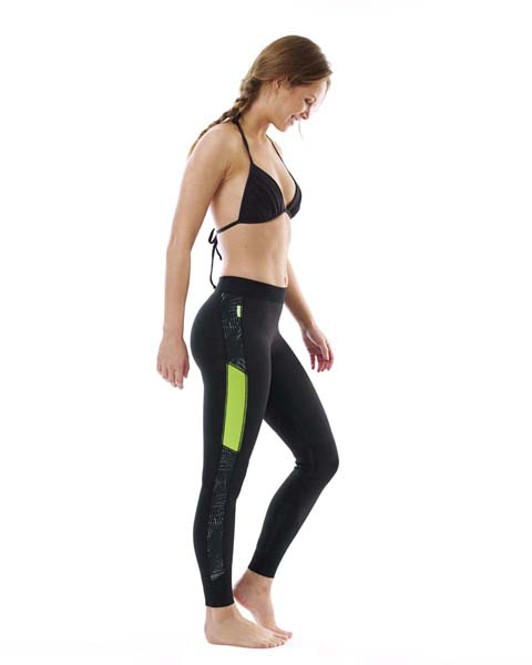 Jobe Verona Reversible Legging 1.5mm Lime/Black