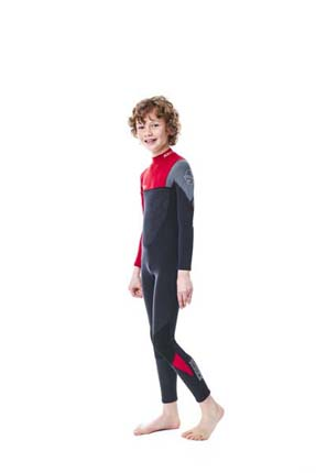 Jobe Boston 3/2mm Wetsuit Kids Red