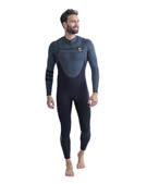 Jobe Perth 3/2mm Chestzipper Wetsuit Men Gray